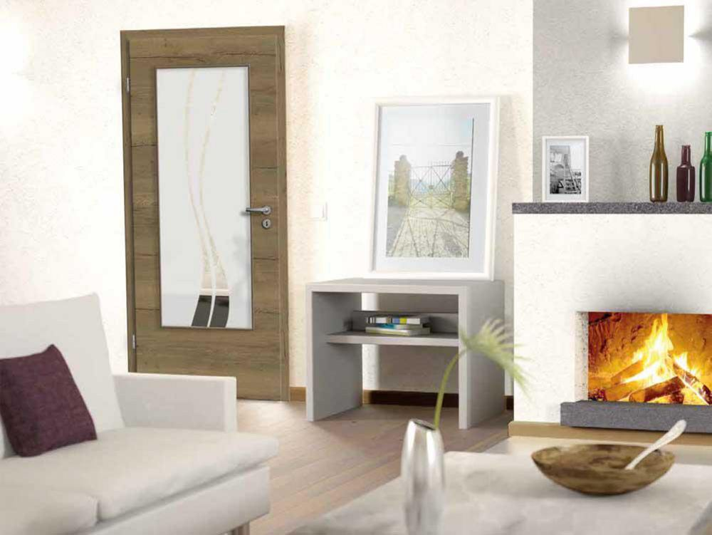 Zaubern Sie Tolle Effekte In Ihr Zu Hause Mit Einer Innentür Aus Glas